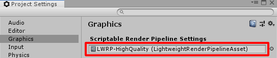 Blog: Unity Lightweight Render Pipeline support