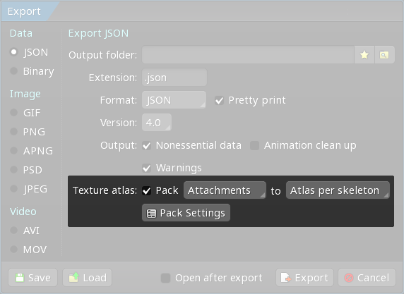 Texture Packing - Spine User Guide